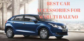 Best Car Accessories for Maruti Baleno