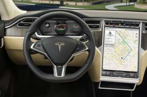 Model S Touch Screen