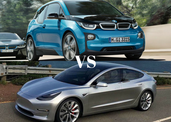 Tesla Model 3 Vs BMW I3 I3s Comparison Which Is Better