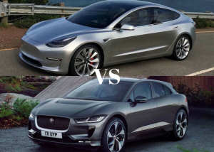 Tesla Model 3 vs Jaguar I-Pace Comparison