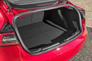 Model 3 boot space