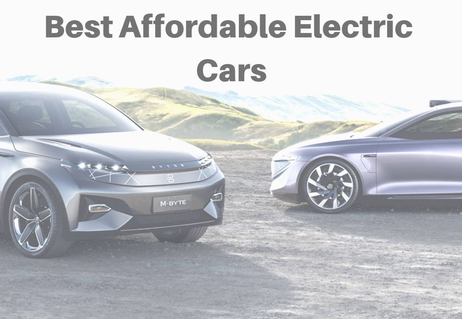 Best Affordable Electric Cars Est 2019 Vehiclesuggest