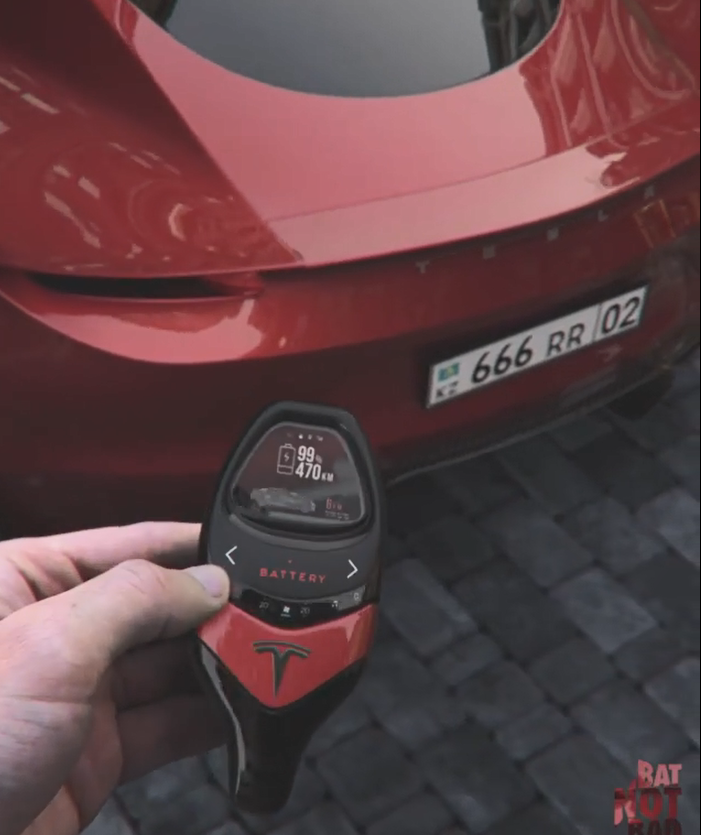 This Tesla Roadster Concept Key Looks Pretty Cool And Interesting
