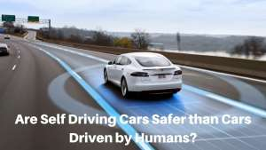 Are Self-Driving Cars Safer than Cars Driven by Humans