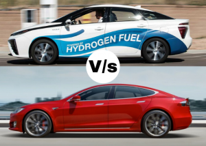 Battery Electric vs. Hydrogen Fuel Cell Cars