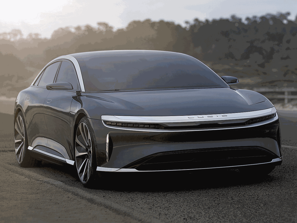 Lucid Air to give Tough Competition to Tesla Model S and Porsche Taycan with Killer Aerodynamics