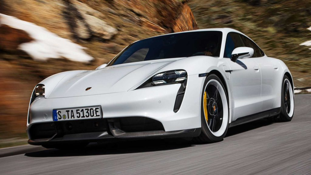 Porsche delivered almost 4,500 Taycan electric cars in the first half of 2020