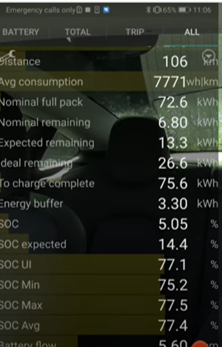Tesla Increases its Maximum Battery Size to 205kWh in its Software