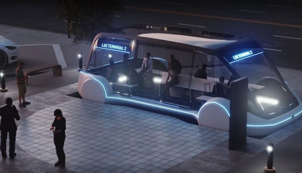 Boring Company Tunnel In Vegas Is A Few Months Away From Being Functional