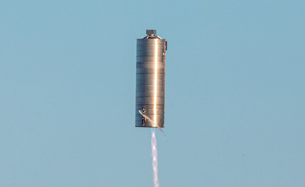 SpaceX Starship SN5 leaps towards Mars with 150-meter test hop