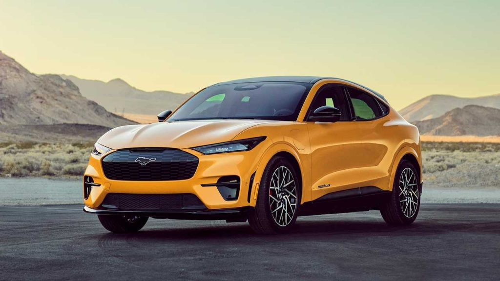 2021 Mustang Mach E GT Performance Edition